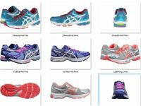 NIB Women's Asics EXALT 2 Running Shoes  Choose Yours Contend Excite