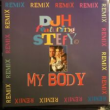 DJ H Feat STEFY • My Body remix  • Vinile 12 Mix • 1994 WICKED & WILD