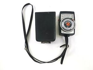 Gossen Luna-Pro F Exposure Meter with Case and Strap, in Excellent Condition.