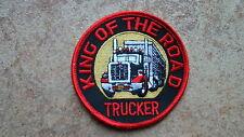 2 Stück Aufnäher King of the Road Trucker  LKW  (Nr.892)