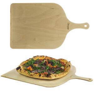 Pizzaschaufel Birkenholz Pizzawender Pizzaheber Pizzaschieber Pizzabrett Italy