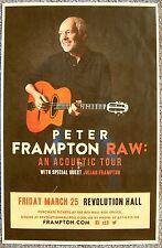 PETER FRAMPTON 2016 Gig POSTER Portland Oregon Concert