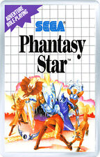 PHANTASY STAR SEGA MASTER SYSTEM FRIDGE MAGNET