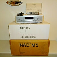 NAD M5 High-End CD / HDCD / SACD Player, XLR, OVP&NEU, 2 Jahre Garantie