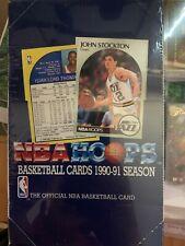 NBA HOOPS 1990-1991 SEASON Series 1 SEALED BOX  Basketball