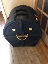 Hardcse 20 Bass drum case with wheels Used HN20B