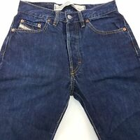 Diesel KEETAR Mens Vintage Jeans W28 L30 Dark Blue Regular Straight High Rise