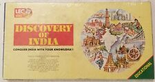 DISCOVERY OF INDIA BOARDGAME BY LEO TOYS CONQUER INDIA WITH YOUR KNOWLEDGE