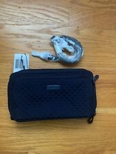 Vera Bradley Iconic Deluxe All Together Crossbody Classic Navy NWT