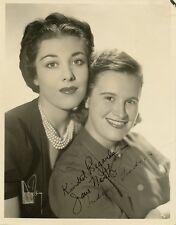 Vintage JANE NORTH (?) & JUDY O'GRADY (?) Signed Photo - Any Ideas?