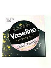 Vaseline Lip Therapy Pink Bubbly Lip Balm Tin Limited Edition 0.6oz