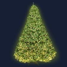 Jingle Jollys 2.4m 8ft Christmas Tree Xmas 3190 LED Lights Warm White 1436 Tips