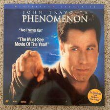 Phenomenon Widescreen Laserdisc - John Travolta