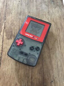 Nintendo GameBoy Color - Colour Game Boy Handheld GBC Console Red Clear Black