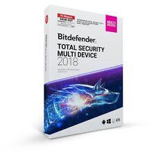 Bitdefender Total Internet Security 1 PC 1 Jahr DE/ML GreenIT 2017/2016