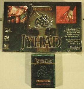 Jyhad Booster Box & Starter Deck Sealed- Jyhad Vampire the Masquerade Deckmaster
