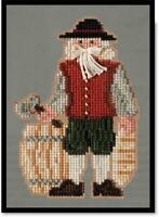MILL HILL Colonial Santas Counted Cross Stitch Kit - PLYMOUTH SANTA MH20-3303