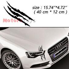 1PC Black Universal Scratch Stripe Headlight Hi-Quality Vinyl Car Sticker Decal