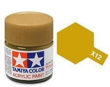 Tamiya Acrylic Paint 10 Ml. - X12 Gold Leaf