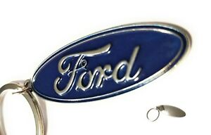 FORD Logo Keychain RAISED DETAILS Key chain Trucks Classic F-150 Ranger mustang
