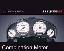 JDM OEM NISMO COMBINATION METER CLUSTER WHITE SKYLINE R34 GT-R BNR34 JAPAN F/S