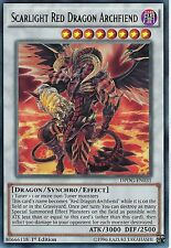 YU-GI-OH CARD: SCARLIGHT RED DRAGON ARCHFIEND - RARE - DPDG-EN031 - 1ST EDITION