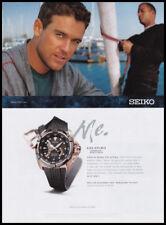 Seiko Velatura Kinetic watch print ad 2008