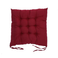 Cotton Seat Soft Cushion Buttocks Chair Mat Pads Dining Room Home Office Decor
