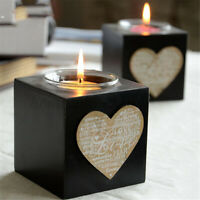 LOVE Candle Holder Tealight Stand Candlestick Wedding Party Table Decor