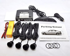 WIRELESS REAR 4 SENSORS PARKING REVERSING SYSTEM WITH  LED DISPLAY