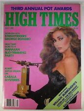 High Times Magazine July 1981 #FDC 63-508 - Interview with Knightriders' George