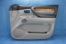 Lexus LX470 Front Passenger Door Interior Trim Panel 2004-2007 Gray (stone) OEM