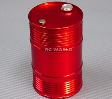 RC 1/10 Scale Accessories METAL ALUMINUM DRUM CONTAINER Liquid Storage RED