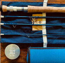 Hardy Zane 9ft 8wt fly rod w/original tube, neoprene case and sock. Perfect!