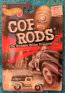 '56 FORD TRUCK OFFICER KEY WEST POLICE FLORIDA 1:64 - HOT WHEELS (1999)