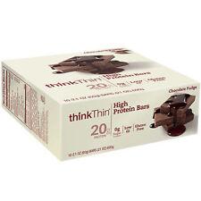Think Thin thinkThin High Protein Bar - 10 Bars CHOCOLATE FUDGE