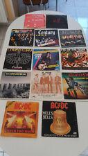 lot de    45 tours  HARD ROCK    acdc europ scorpions .......