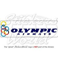 OLYMPIC AIRWAYS Fluggesellschaft Griechenland 200mm Aufkleber, Vinyl Sticker