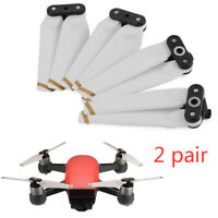 4x White Easy-install Quick-release Foldable Propeller For DJI SPARK Drone 4730F