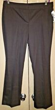NWT New York and Company Collection Dress Pants Size 14 Black Pinstripe MSRP $72
