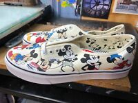 Vans Authentic (Disney) Mickey's Birthday 90 Anniversary US 12 Men VN0A38EMUJ2