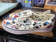Vans Authentic (Disney) Mickey's Birthday 90 Anniversary US 10.5 Men VN0A38EMUJ2