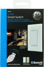 GE 13869 Bluetooth In-Wall Wireless Smart Switch, 120 Volt