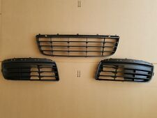 fits 2005-2010 JETTA Front Bumper Lower Grille Left / Right / Center 3PC SET