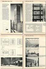 1961 New 52 Storey Office Block For Union Carbide, New York
