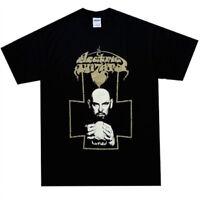 ELECTRIC WIZARD - Anton Lavey Portrait T-Shirt - RARE Size Small S - Doom Metal