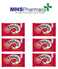 6 packs 10 Throaties Strong Original Pastilles - Help ease a sore throat
