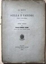 MITOLOGIA LETTERATURA ODISSEA SCILLA E CARIDDI