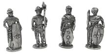 Celtic Warriors Miniature Figurines Role Playing Pewter Pack of 4 Warriors 1.5H