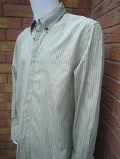 JUICY COUTURE STRIPE SHIRT WITH DETACHABLE SKINNY TIE SIZE XL